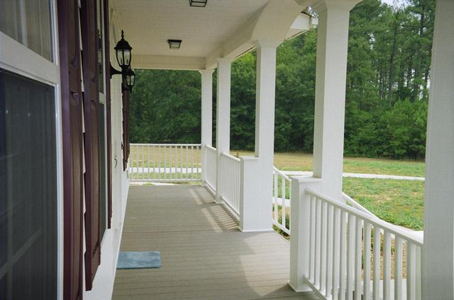 Vinyl Handrails and Columns